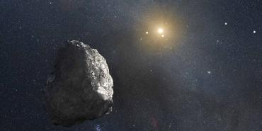 Artist Concept of Kuiper Belt Object