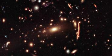 Hubble image of Galaxy Cluster MACS J1206.2-0847