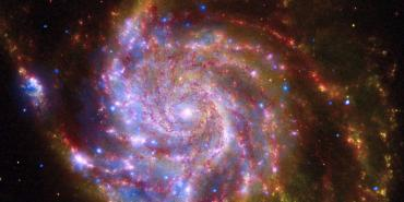 NASA's Great Observatories Celebrate the International Year of Astronomy with Messier Galaxy