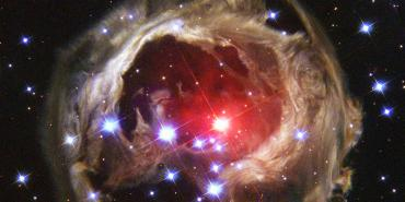 Super giant star V838 Monocerotis