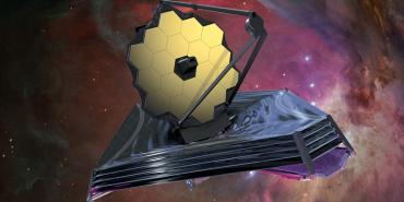 Illustration of the James Webb Telescope