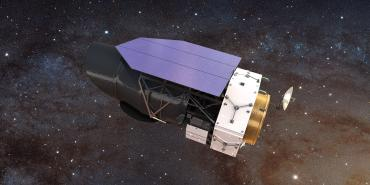 Artistic rendering of the Wide Field Infrared Space Telescope