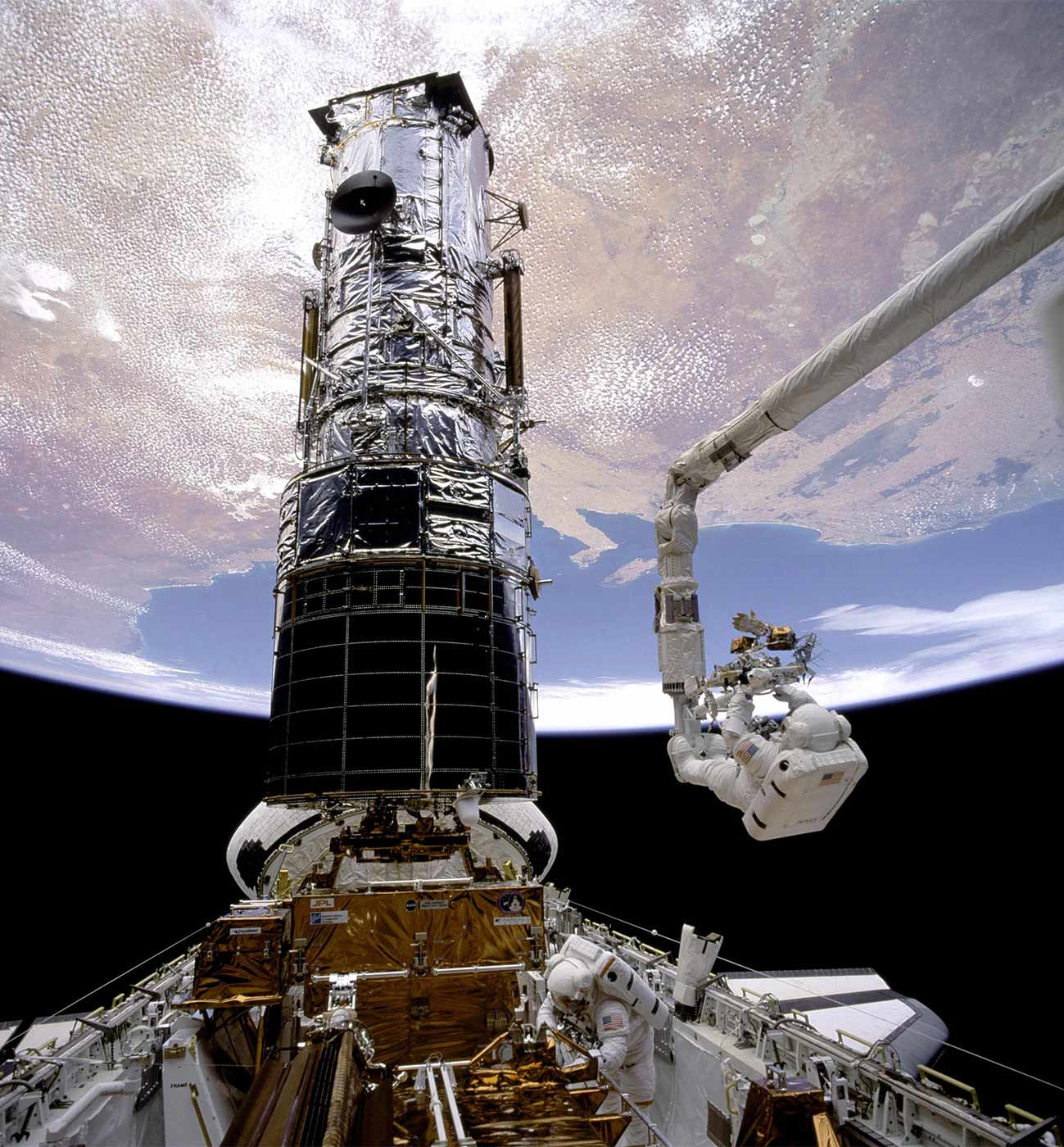 Hubble Servicing Mission One