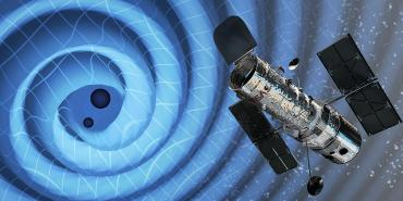 Hubble helps LIGO