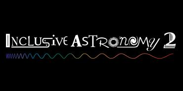 Inclusive Astronomy 2 playful logo