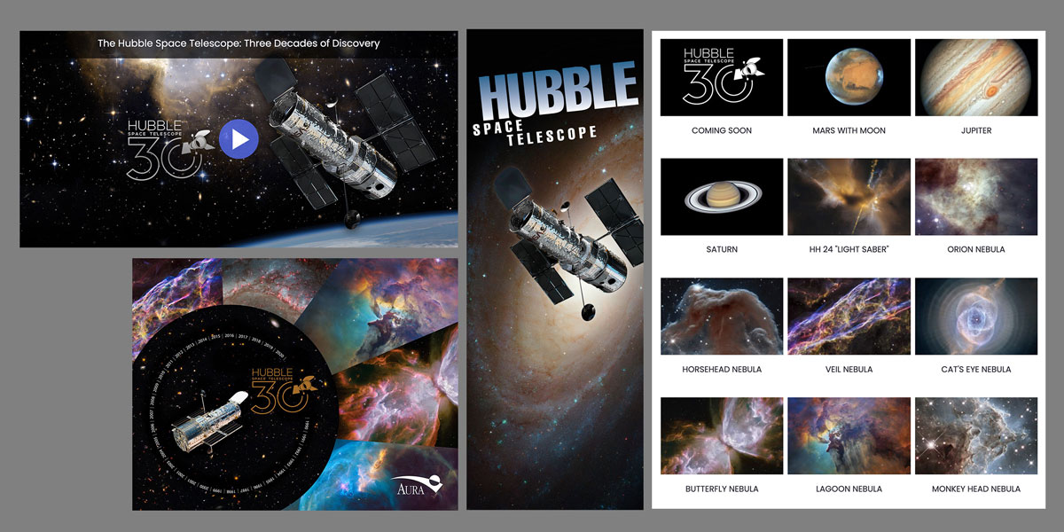 resources for Hubble's 30th celebration