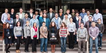 Group photo of Hubble Fellows