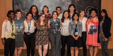 Group Photo of 2017 Space Astronomy Summer Program students