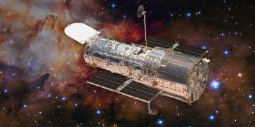 Artistic Rendering of Hubble