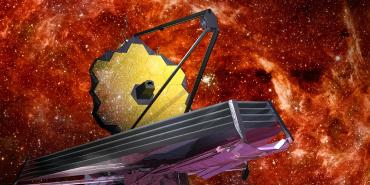Artistic rendering of the James Webb Space Telescope