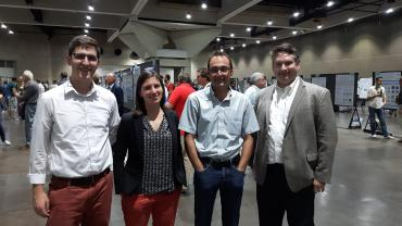 The Makidon Optics Lab team at the 2019 SPIE Conference