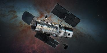 Illustration of Hubble Space Telescope